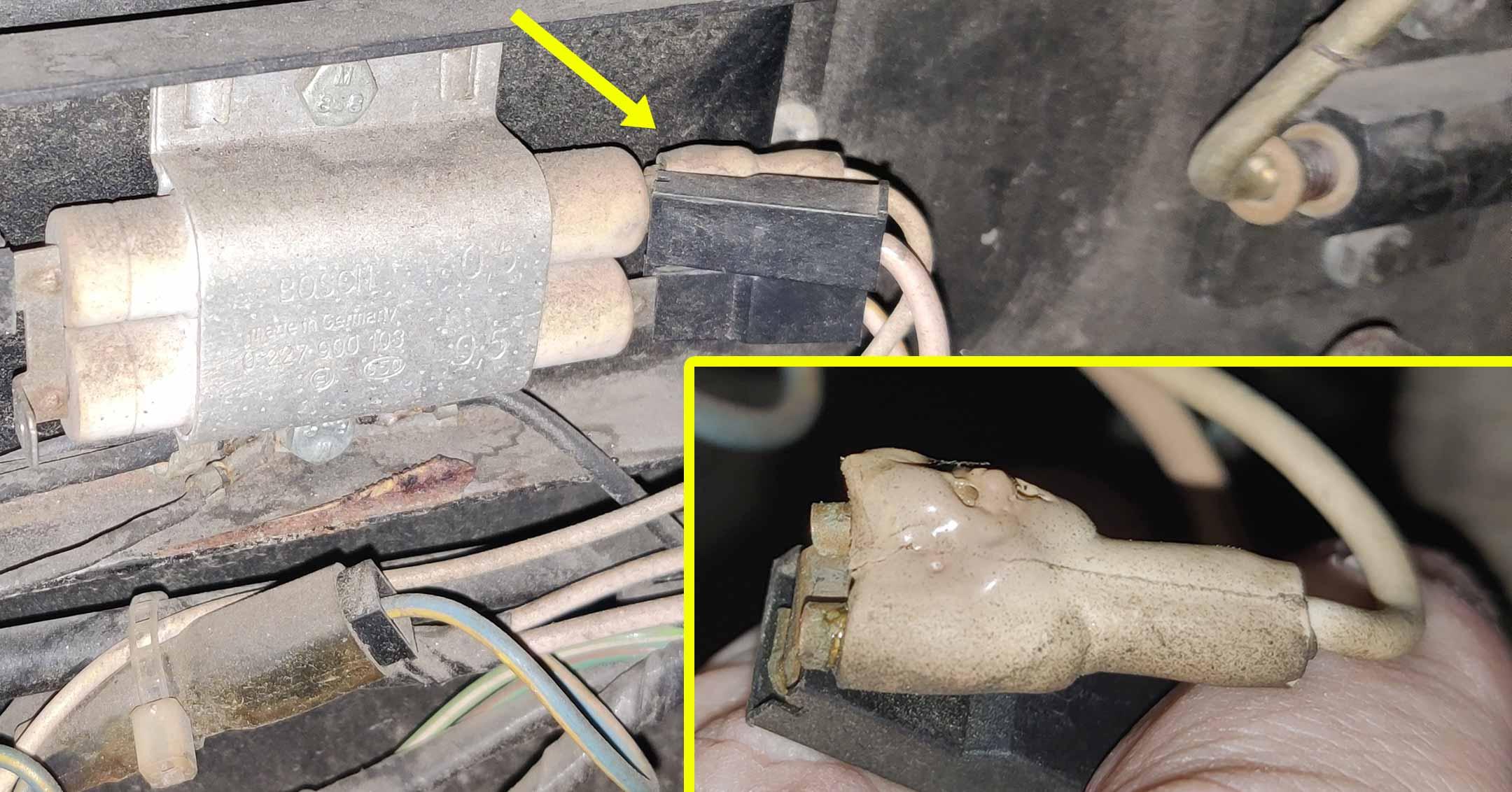 Won't run, check the ballast connections | DeLoreanDirectory.com